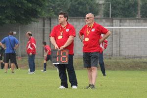 Domenico Durante sul campo, a fianco e a sostegno dell'amico Paolo Taddeo