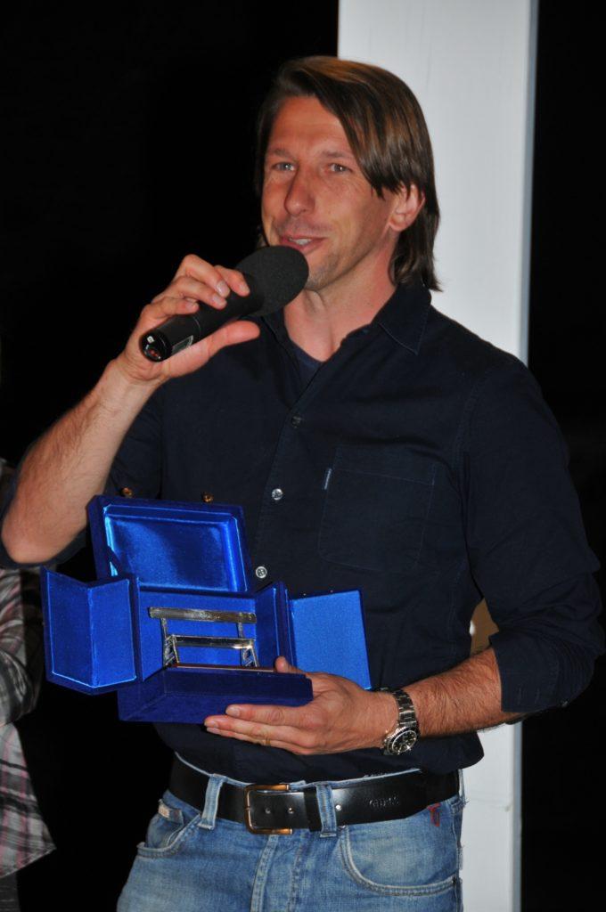 "Stefano Vecchi, Panchina d'Argento ""Franco Mandelli"" A.I.A.C. Bergamo 2010"